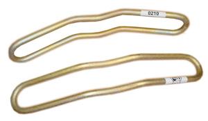 Соединитель рельсовый стыковой пружинный для инвентарных рельсов типа СРСП-ИР