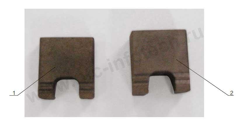 Ножи контактные для автопереключателя стрелочных электроприводов